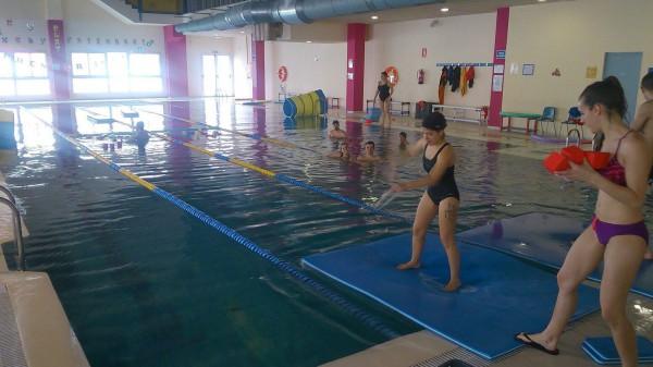 Prácticas monitor de natación