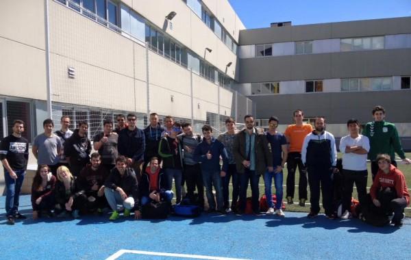 Grupo de socorristas renovando su título con AguaNorte